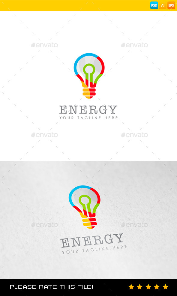 GraphicRiver Energy Logo 8989583