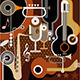 Abstract Music Background - GraphicRiver Item for Sale
