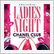 Ladies Night Party  - GraphicRiver Item for Sale