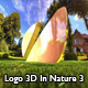 Logo 3D In Nature 3 - VideoHive Item for Sale