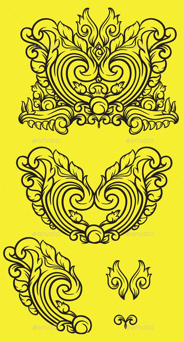 GraphicRiver Heart Ornament 8989868