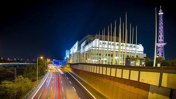 Berlin Radio Tower Motorway