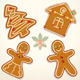 Christmas Gingerbread Cookies - GraphicRiver Item for Sale