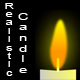 Realistic Burning Candle - ActiveDen Item for Sale