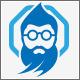 Old Genius Geek Logo - GraphicRiver Item for Sale