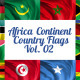 Africa Continent Country Flags Vol. 2 - VideoHive Item for Sale