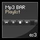 Mp3 BAR with playlist - ActiveDen Item for Sale