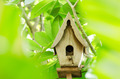 Wood bird house - PhotoDune Item for Sale