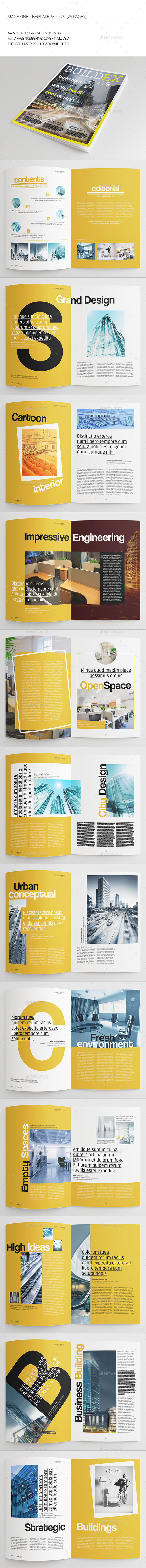 GraphicRiver 25 Pages Architect Magazine Vol79 8990016