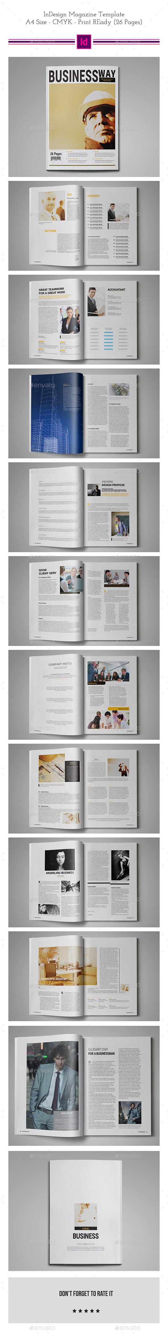 GraphicRiver Business Magazine Template 8990049
