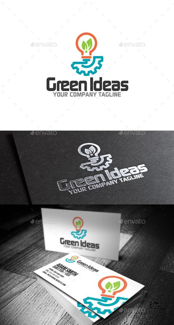 GraphicRiver Green Ideas Logo 8990169