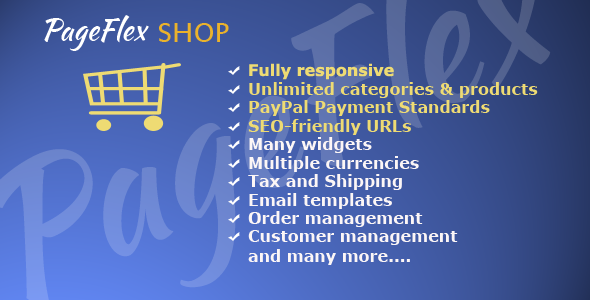 CodeCanyon PageFlex Shop For PageFlex CMS 8990177