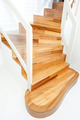 View of interior wooden stairs - PhotoDune Item for Sale