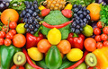 background of ripe fruits and vegetables - PhotoDune Item for Sale