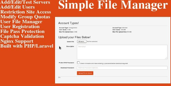 CodeCanyon Simple File Sharing 8867613