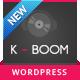 K-BOOM - Events & Music Responsive WordPress Theme - ThemeForest Item for Sale