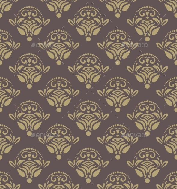 GraphicRiver Damask Seamless Vector Pattern 8990258