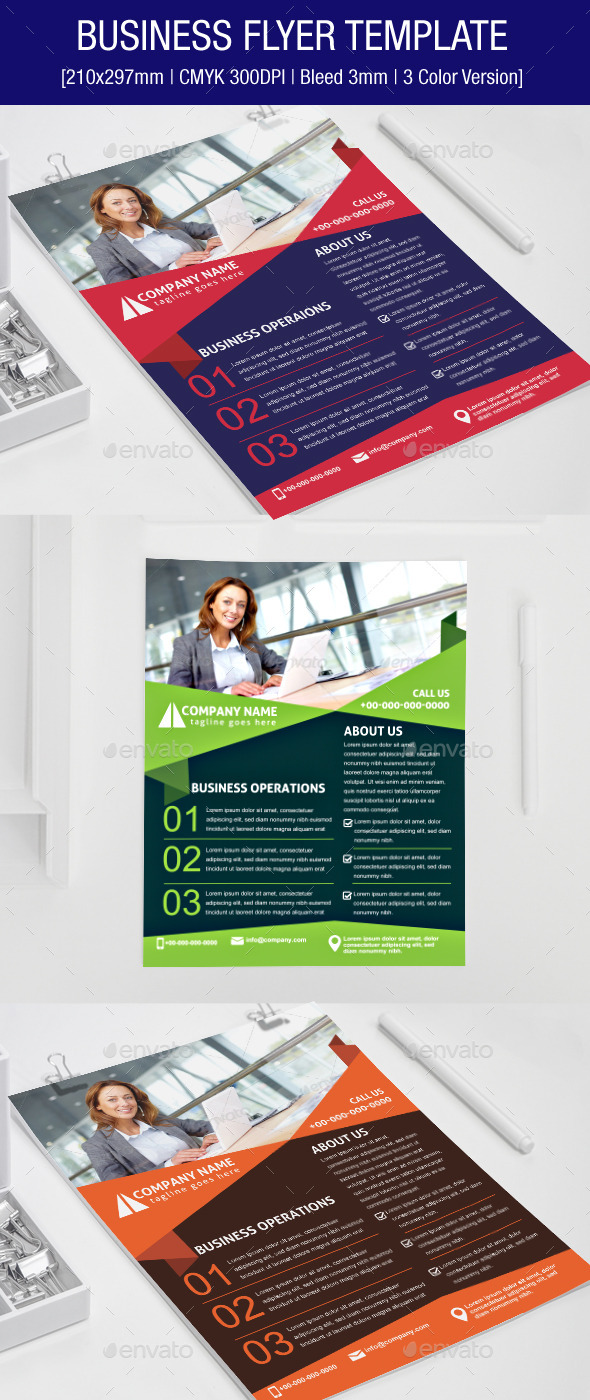 GraphicRiver Business Flyer Template 8976769