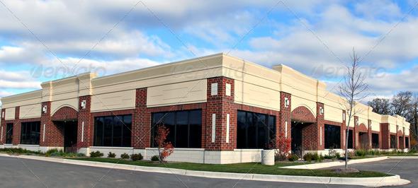 PhotoDune small business building panorama view 923153