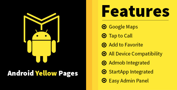 CodeCanyon Android Yellow Pages 8971419