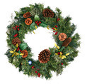 Christmas Wreath Isolated - PhotoDune Item for Sale