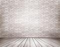 White brick room. - PhotoDune Item for Sale
