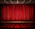 Cinema or theater scene with a curtain - PhotoDune Item for Sale