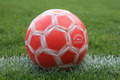 Weathered Soccer Ball on the Field - PhotoDune Item for Sale
