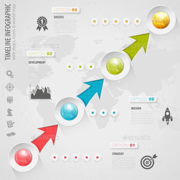 GraphicRiver Timeline Infographic 8990919