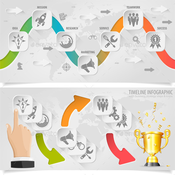GraphicRiver Timeline Infographic 8990921