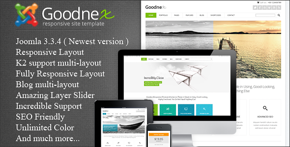 ThemeForest Goodnex Responsive Joomla Template 8991424