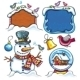 Christmas Cartoon Set - GraphicRiver Item for Sale