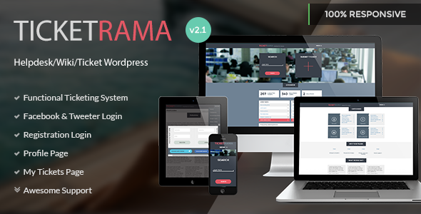 Ticketrama - Wordpress Helpdesk | Ticket | Support - Software Technology