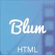 Blum - Responsive Coming Soon Template - ThemeForest Item for Sale
