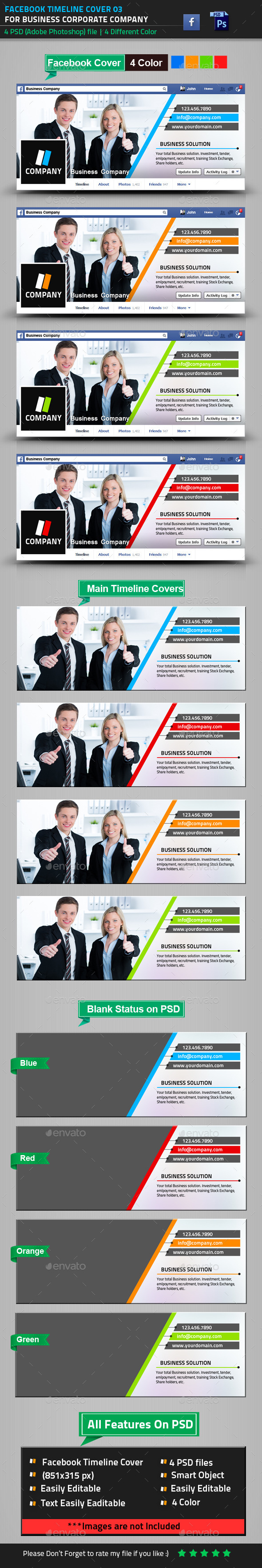 GraphicRiver Business Facebook Timeline Cover 02 8992103