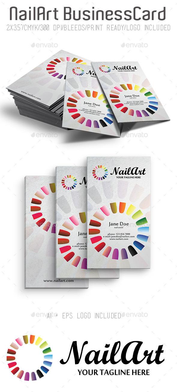 NailArt Business Card