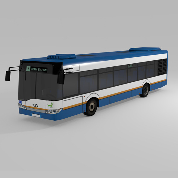 3DOcean LOW POLY BUS SOLARIS URBINO 12 8992292