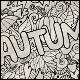 2 Autumn Doodles Designs - GraphicRiver Item for Sale
