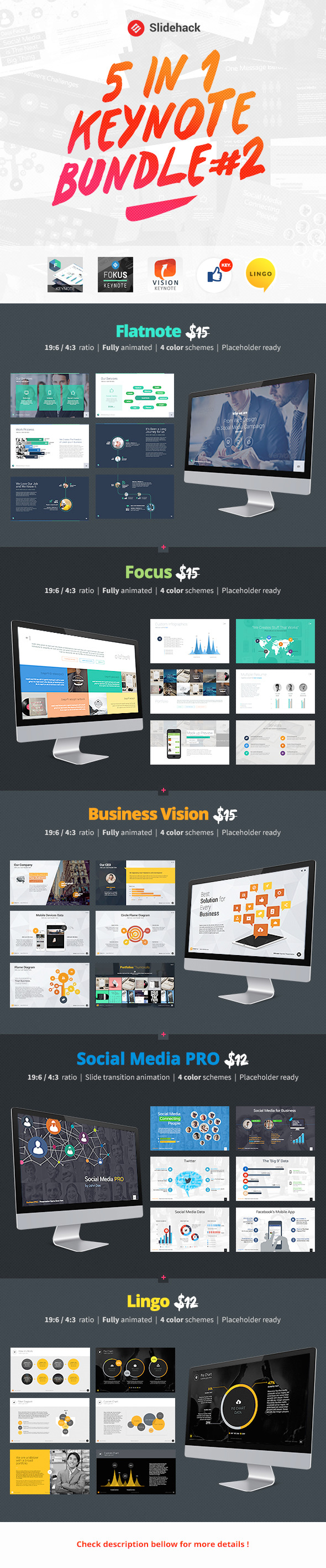 GraphicRiver Slidehack s Keynote Bundle #2 8993523