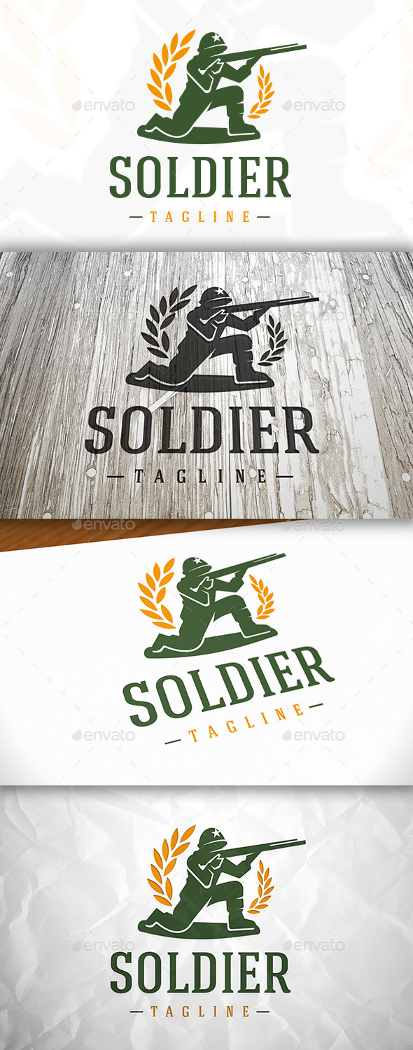 GraphicRiver Soldier Logo 8993778