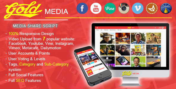 CodeCanyon Gold MEDIA 8962397