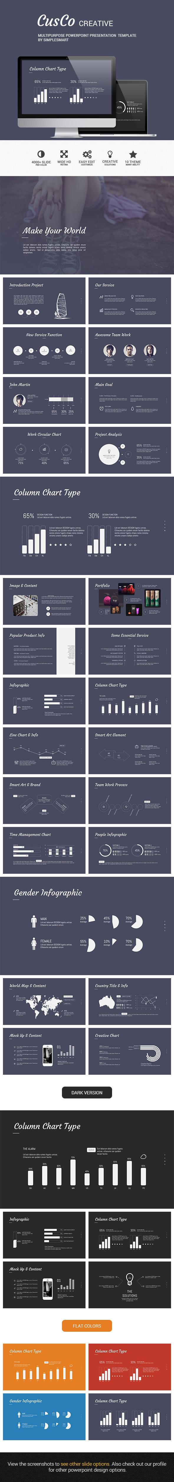 GraphicRiver CusCo Clean & Modern Presentation Template 8994265