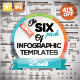 The Six Pack of Infographic Templates Save 41%! - GraphicRiver Item for Sale