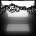 metal polished background with cogwheel gears - PhotoDune Item for Sale