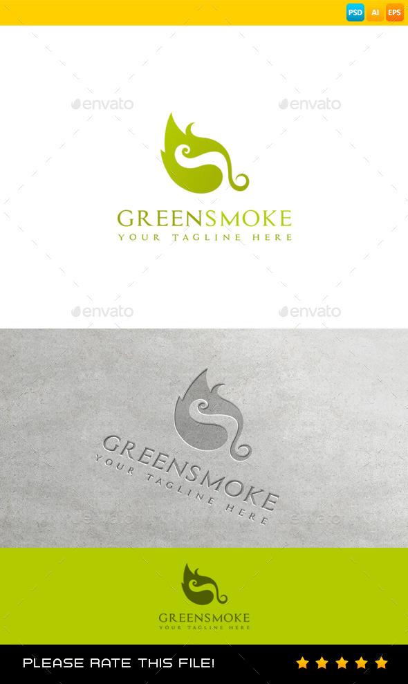 GraphicRiver Leaf Logo 8994990