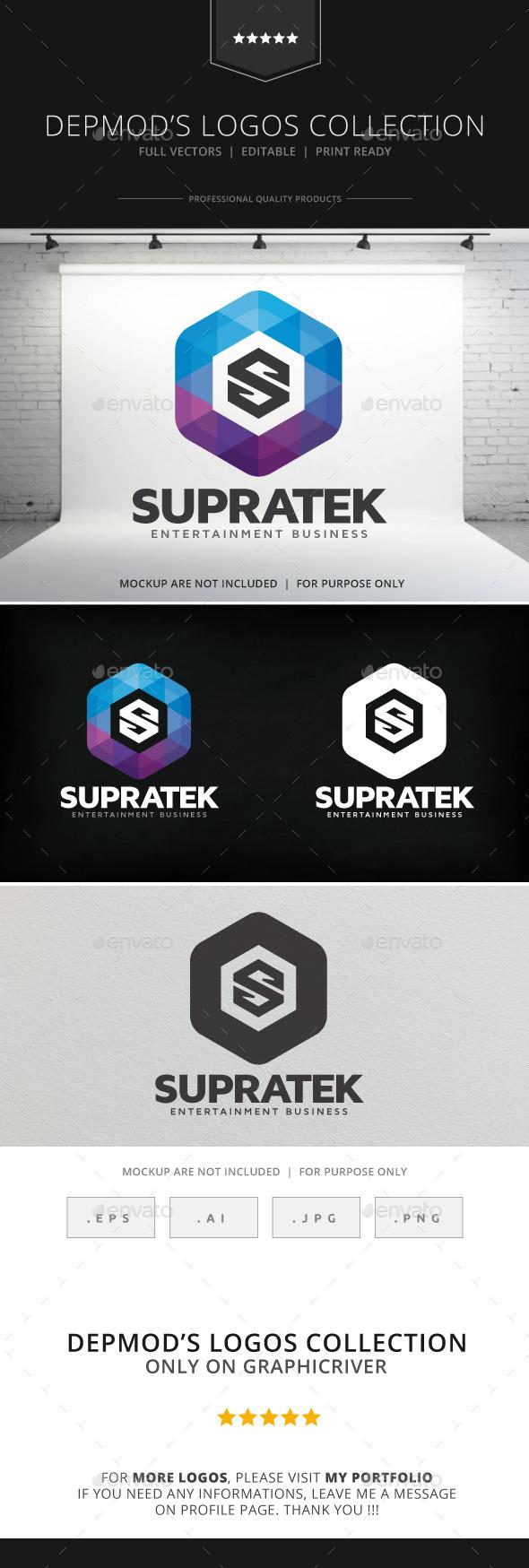 GraphicRiver Supratek Logo 8995211