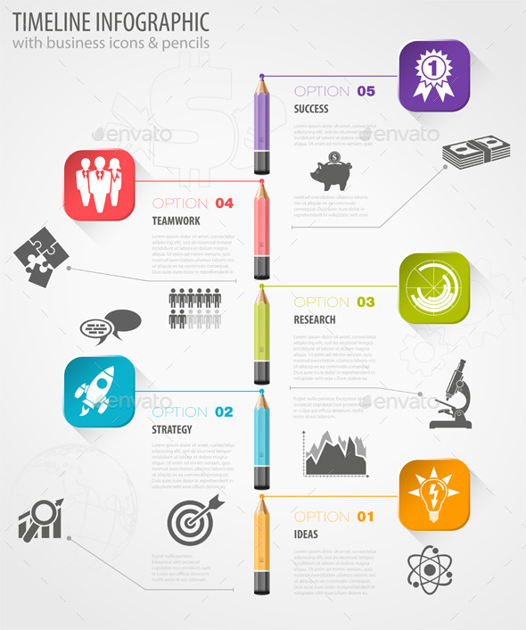 GraphicRiver Timeline Infographic 8995404
