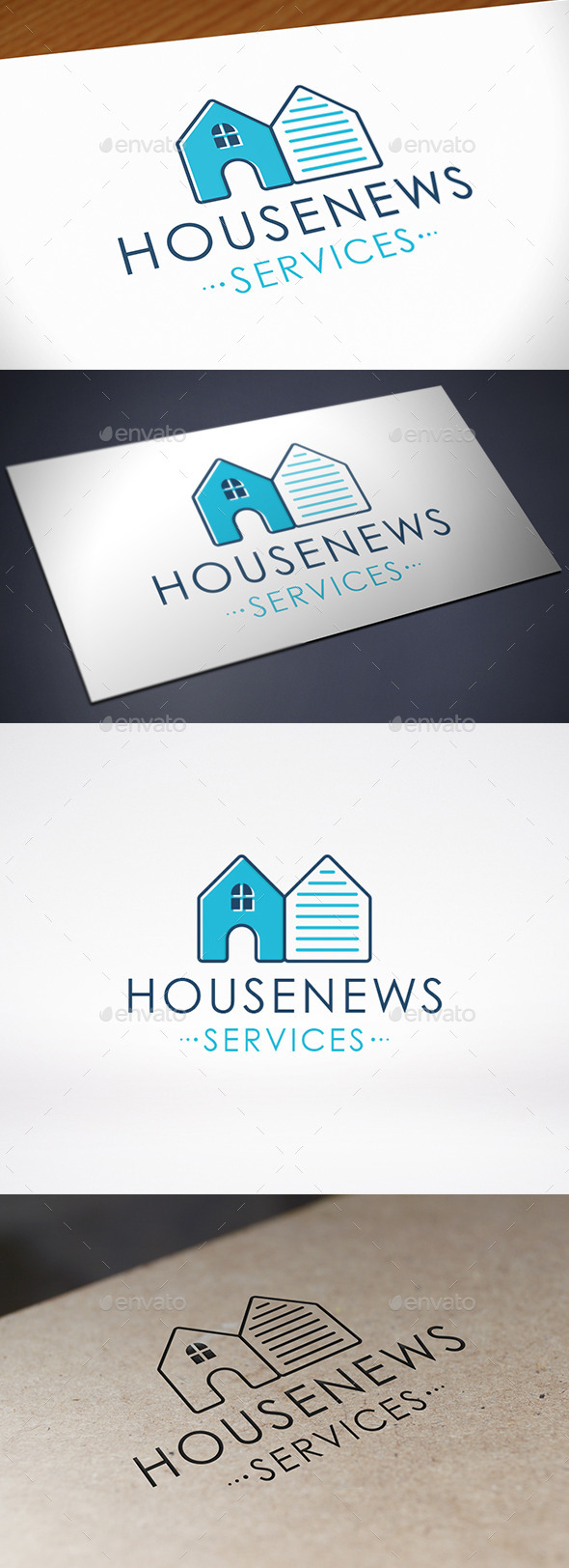 GraphicRiver House News Logo Template 8995459