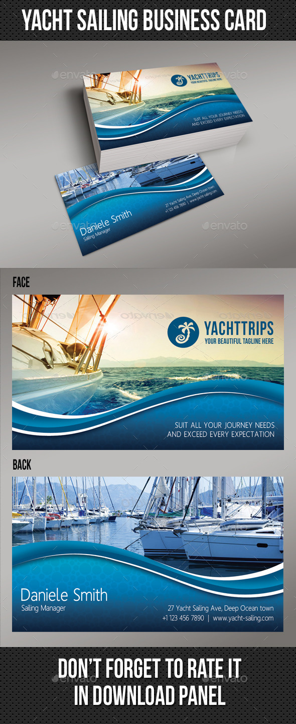 GraphicRiver Yacht Sailing Business Card 01 8995475