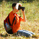 Young Boy Taking Photos With Dslr - VideoHive Item for Sale